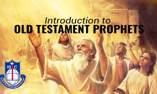DTH020 Introduction to Old Testament Prophets