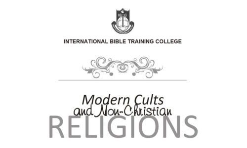 DTH012 Modern Cults & Christian Religion