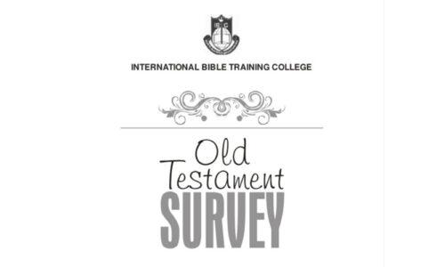 DTH006 Old Testament Survey