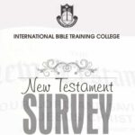 CTH007 New Testament Survey