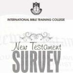 CTH007 New Testament Survey