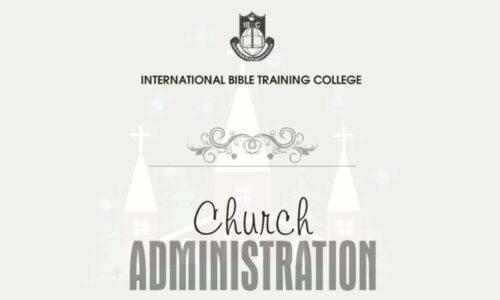 CTH017 Church Administration