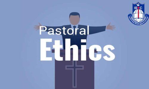 CTH021 Pastoral Ethics